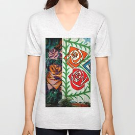 A Rose Is A Rose Is... Unisex V-Neck