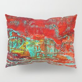 Aztec Fossil Painting Series Pillow Sham
