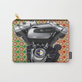 Portugal Biker Collage flag Carry-All Pouch