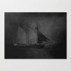 Traditional sails Canvas Print