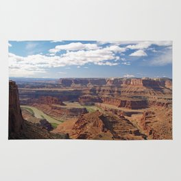 The Colorado River at Dead Horse Point Rug