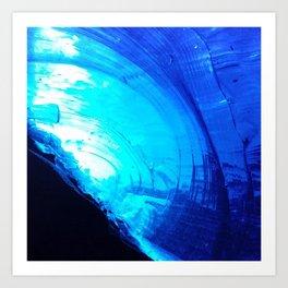 Under Ice Art Print