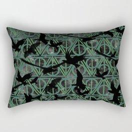Dark Souls Green Rectangular Pillow
