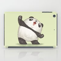 panda iPad Cases featuring Panda by Toru Sanogawa
