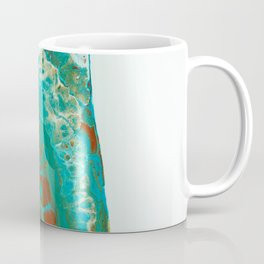 Green abstract Coffee Mug