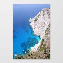 Kampi Cliffs Canvas Print