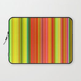 Rainbow Glowing Stripes Laptop Sleeve