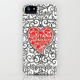 Lusitana Paixão iPhone Case