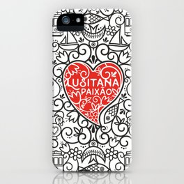 Lusitana Paixão iPhone Case