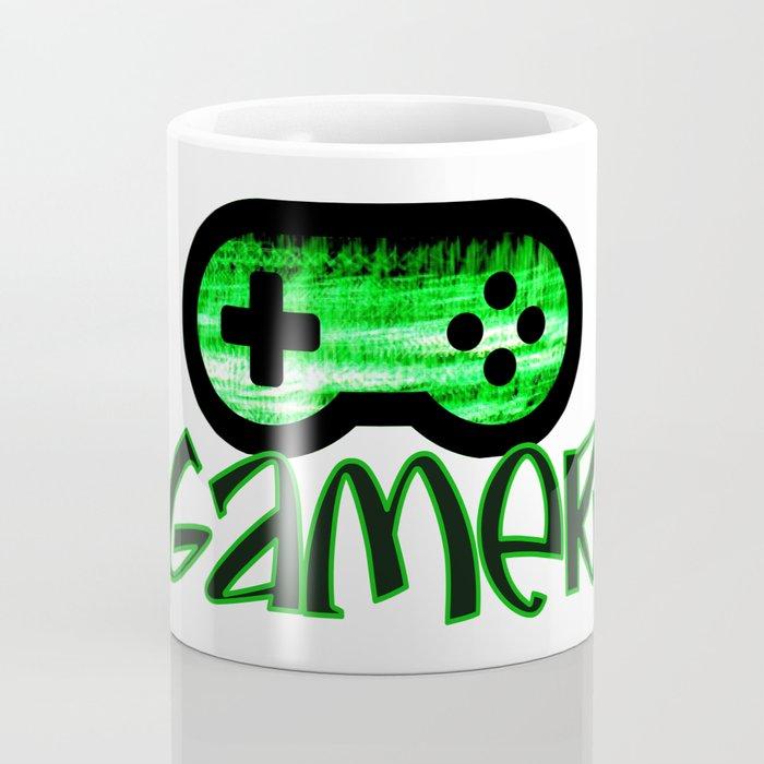 Gamer Green Coffee Mug