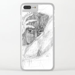 All That's Hidden Clear iPhone Case