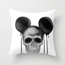 Mick3y Throw Pillow