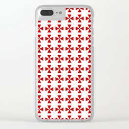 Maltese cross 2 Clear iPhone Case