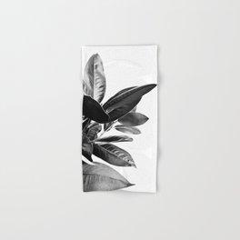 Grandiflora II - bw Hand & Bath Towel