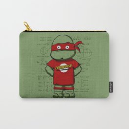 Turtle Sheldon Carry-All Pouch