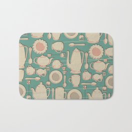 Tea Time! Bath Mat