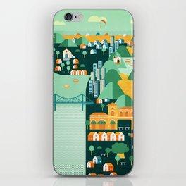 Floripa Brazil iPhone Skin