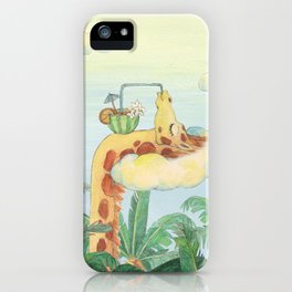 summer chillax iPhone Case