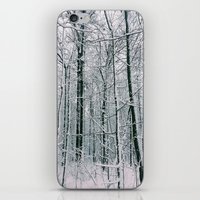 blankets iPhone & iPod Skins featuring Blankets of Snow by Warren Silveira + Stay Rustic