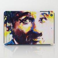 charlie chaplin iPad Cases featuring Charlie Chaplin by Marta Zawadzka