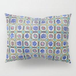 Floral Blue Variety tiles Pillow Sham