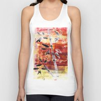 bamboo Tank Tops featuring bamboo by Kras Arts - Fly Me To The Moon