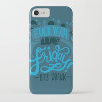 friday iPhone & iPod Cases featuring Friday by Aimee Brodbeck