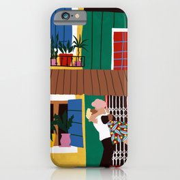 hug me, thrill me, kiss me iPhone Case