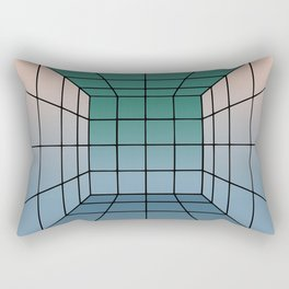 Shooting gallery without targets Rectangular Pillow