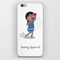 Dashing Uppercut iPhone Skin