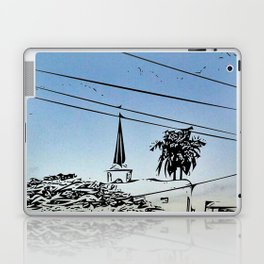 over smal trown the sunset Laptop & iPad Skin