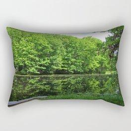 Brushing Away Memories Rectangular Pillow