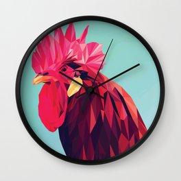 ROOSTER Pop Art Wall Clock