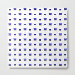 Flag of estonia 4- Metal Print