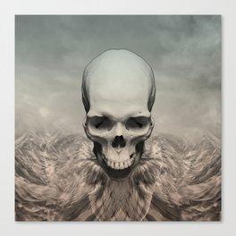 Dead eagle Canvas Print