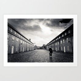 nordic scene Art Print