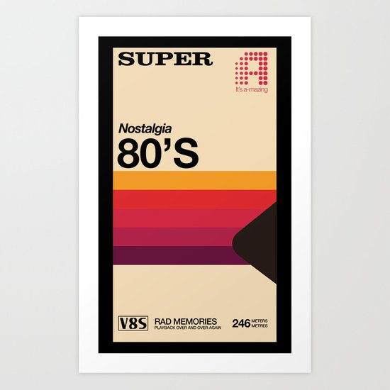 Super Tape Art Print