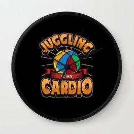 Juggling Circus Juggle Sport Hobby Wall Clock