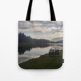 Morning Lake Tote Bag