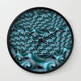 Waves - Fractal Wall Clock