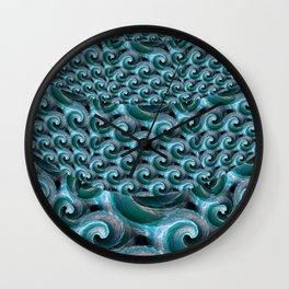 Waves - Fractal Wall Clock