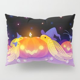 Halloween pleco Pillow Sham
