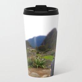 Machu Picchu Metal Travel Mug