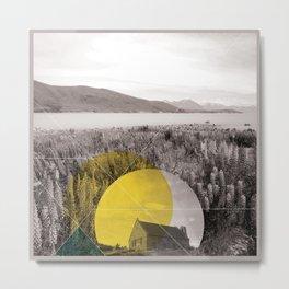 Sojourn series - Lake Tekapo Metal Print