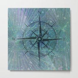 The Compass Metal Print