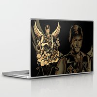 heavy metal Laptop & iPad Skins featuring Heavy Metal Daryl by Tracey Gurney