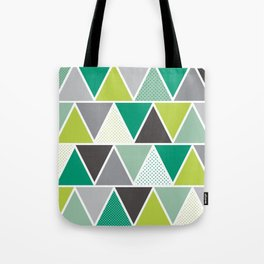 Triangulum - Emerald Tote Bag