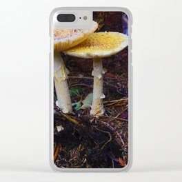 Fungi on Vancouver Island, BC Clear iPhone Case