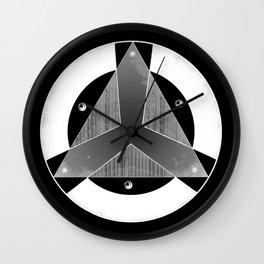 Logo Organización Negativo Wall Clock