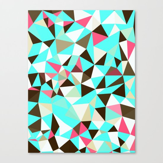 Cherry Mint Choco Tris Canvas Print